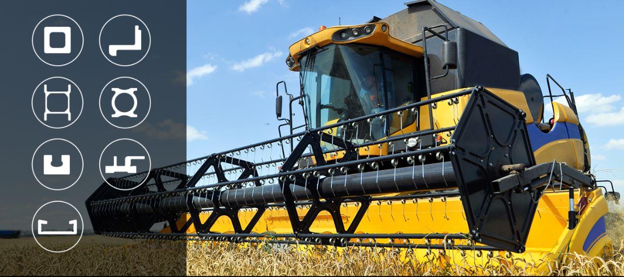Macchine Agricole, i nostri profili speciali estrusi a caldo